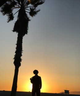 Bruno Mars Impersonator In Santa Monica